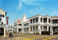 MALAYSIA, PENANG, GEORGETOWN - CIRCA JUL 2014: The Beautiful arc Royalty Free Stock Photo