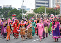 Malaysia 57th Independence Day Parade. Royalty Free Stock Photo