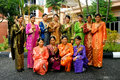 Malaysian cultural outfits Stock Photography