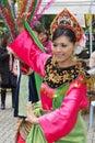 Malaysian Dance Royalty Free Stock Photo