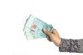 Malaysian money Royalty Free Stock Photo