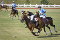 Malaysian Open Polo Action Royalty Free Stock Photo