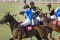 Malaysian Open Polo Action Royalty Free Stock Photo