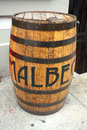Malbec Barrel Royalty Free Stock Photo