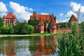 Malbork Castle, Poland Royalty Free Stock Photo