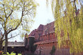 Malbork castle in pomerania region of poland unesco world Stock Photo