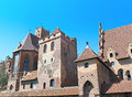 Malbork castle in pomerania region of poland unesco world Royalty Free Stock Images