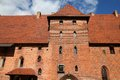 Malbork medieval castle Stock Images