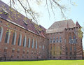 Malbork medieval castle in pomerania region of poland unesco world heritage site Royalty Free Stock Photography