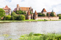 Malbork poland in pomerania in Stock Photos