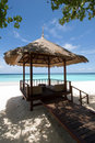 Maldives seascape Royalty Free Stock Images