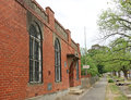 The Maldon Athenaeum Library was founded in 1869 as part of the Mechanics' Institute. The current building dates from 1933 Royalty Free Stock Photo