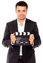 Male actor casting Royalty Free Stock Photo
