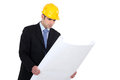 Male architect Stock Photography