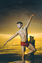 Male ballet dancer Royalty Free Stock Photo
