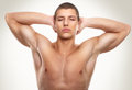 Male beauty portrait handso memetrosexual man Royalty Free Stock Photo