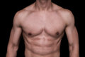 Male body part Royalty Free Stock Photo
