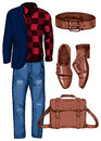 Male casual look