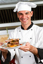 Male chef Royalty Free Stock Photo
