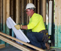 image photo : Male Construction Worker