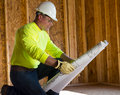 Male Construction Worker Stock Photography