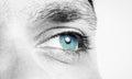 Male Eye Shot