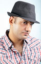 Male fashion model Royalty Free Stock Photo
