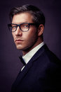 Male fashion model looking awesome Royalty Free Stock Photography