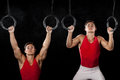 Male Gymnast Royalty Free Stock Image