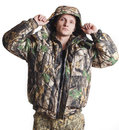 Male hunter Royalty Free Stock Photography