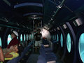 Male maldives august strangers tourists in a subm submarine the interior of submarine Stock Photos