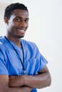 Male nurse Royalty Free Stock Photo