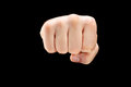 Male punch fist Royalty Free Stock Photo