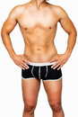 Male sexy underwear model Stock Photography