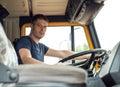 Male trucker.