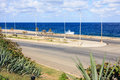 Malecon waterfront Royalty Free Stock Photos