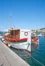 Mali losinj losinj island adriatic sea croatia harbor of on Stock Images