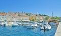 Mali Losinj,Losinj Island,adriatic Sea,Croatia Royalty Free Stock Photo
