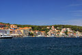 Mali losinj town in croatia Stock Photos