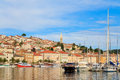 Mali losinj waterfront and harbor island of losinj dalmatia c croatia Stock Photo