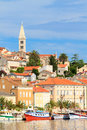 Mali losinj waterfront and harbor island of losinj dalmatia c croatia Stock Photography