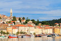Mali losinj waterfront and harbor island of losinj dalmatia c croatia Royalty Free Stock Photography