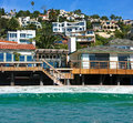 Malibu beach summer in california Royalty Free Stock Image