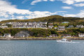Mallaig view of a little port in lochaber on the west coast of the highlands of scotland Royalty Free Stock Photos