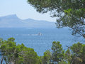 Mallorca seaside landscape Royalty Free Stock Photo