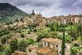 Mallorca spain village valldemossa historic Royalty Free Stock Photography