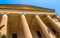 Malta law courts in the republic street in valletta Stock Photo