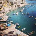 Malta spinola bay Royalty Free Stock Images