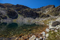 Malyovitsa peak and elenski lakes rila mountain bulgaria Stock Photography