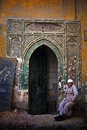 Mamluk Doorway, Cairo Stock Photos